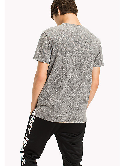 TOMMY JEANS Jersey Pocket T-Shirt - TOMMY BLACK - TOMMY JEANS MEN - detail image 1