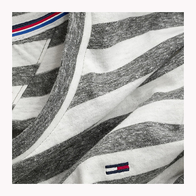TOMMY JEANS Stripe Jersey T-Shirt - VIOLET ICE - TOMMY JEANS Clothing - detail image 3