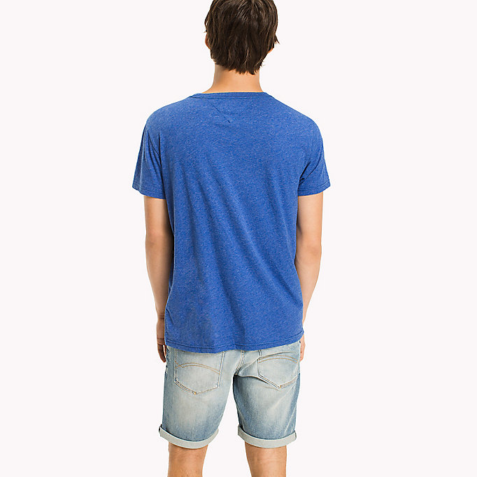 TOMMY JEANS Jersey Logo T-Shirt - MAUI BLUE - TOMMY JEANS Men - detail image 1