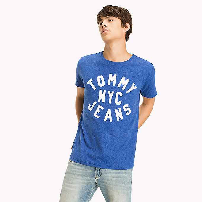 TOMMY JEANS Jersey Logo T-Shirt - RACING RED - TOMMY JEANS Men - main image