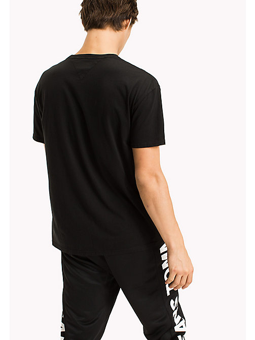TOMMY JEANS Relaxed Fit T-Shirt - TOMMY BLACK - TOMMY JEANS Sustainable Evolution - detail image 1