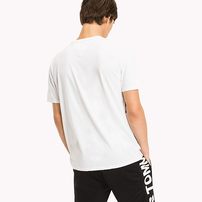 TOMMY JEANS Relaxed Fit T-Shirt - TOMMY BLACK - TOMMY JEANS Clothing - detail image 1