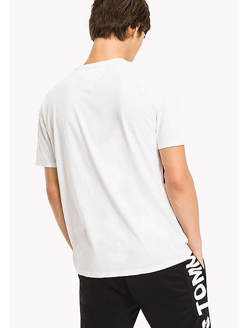 TOMMY JEANS Relaxed Fit T-Shirt - CLASSIC WHITE - TOMMY JEANS Sustainable Evolution - detail image 1