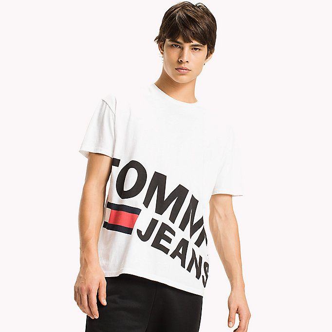 TOMMY JEANS Relaxed Fit T-Shirt - TOMMY BLACK - TOMMY JEANS Clothing - main image