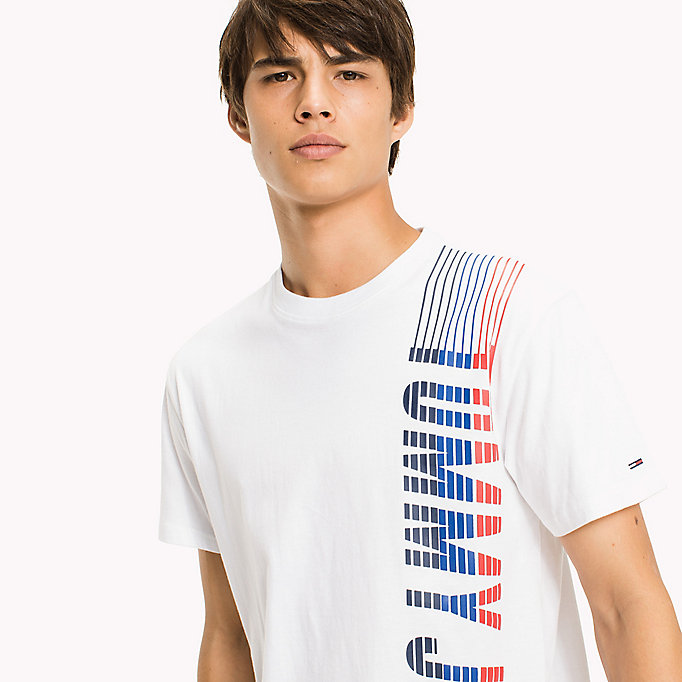 TOMMY JEANS Jersey Regular Fit T-Shirt - NAUTICAL BLUE - TOMMY JEANS Men - detail image 2