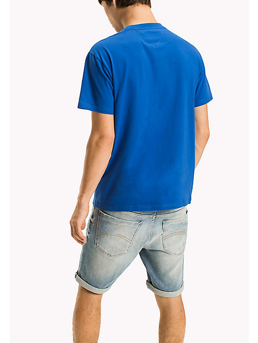 TOMMY JEANS T-shirt in jersey regular fit - NAUTICAL BLUE - TOMMY JEANS Sustainable Evolution - dettaglio immagine 1