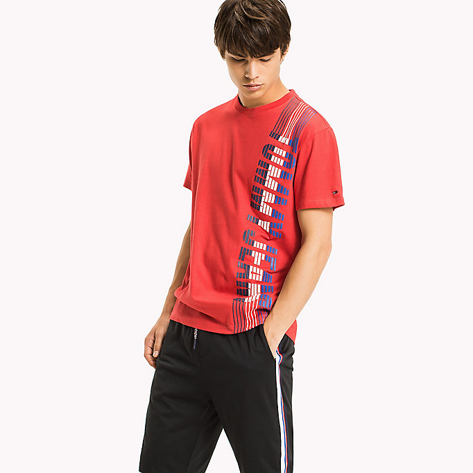 TOMMY JEANS Regular fit jersey T-shirt - BLACK IRIS - TOMMY JEANS Heren - main image