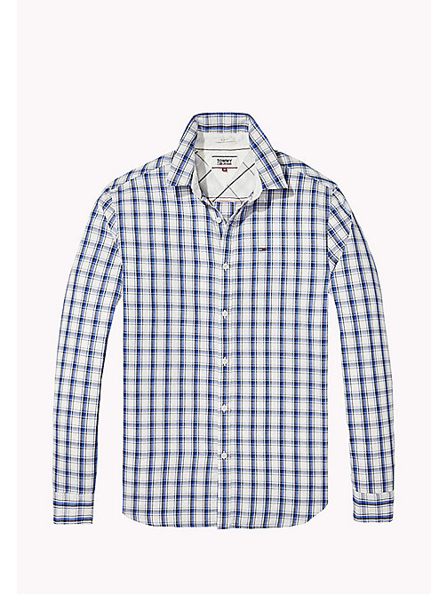 TOMMY JEANS Regular Fit Check Shirt - NAUTICAL BLUE / MULTI - TOMMY JEANS HOMBRES - imagen detallada 1
