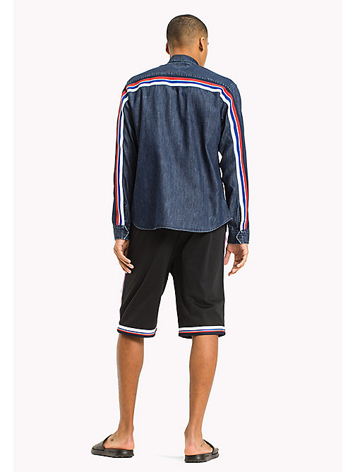 TOMMY JEANS Shorts in jersey - TOMMY BLACK - TOMMY JEANS UOMINI - dettaglio immagine 1