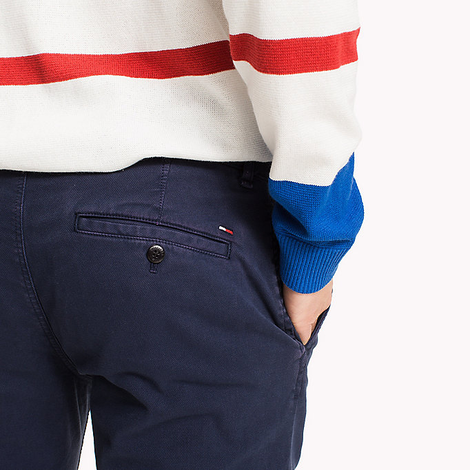 TOMMY JEANS Cotton Stretch Chino Shorts - VIOLET ICE - TOMMY JEANS Clothing - detail image 3