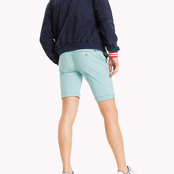 TOMMY JEANS Chino-Shorts aus Baumwoll-Stretch - BLACK IRIS - TOMMY JEANS Kleidung - main image 1