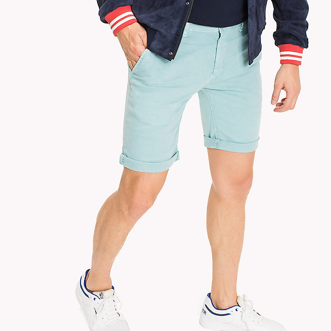 TOMMY JEANS Chino-Shorts aus Baumwoll-Stretch - BLACK IRIS - TOMMY JEANS Kleidung - main image 2
