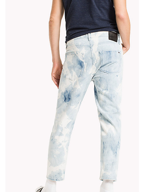 TOMMY JEANS Relaxed Cropped Fit Jeans - MOTOR BLUE CLOUDS RIGID - TOMMY JEANS Jeans - detail image 1