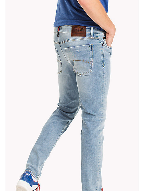 TOMMY JEANS Slim Fit Jeans - DRAM LIGHT BLUE STRETCH - TOMMY JEANS TOMMY JEANS MEN - detail image 1