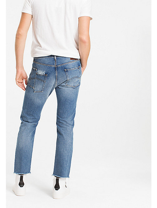 TOMMY JEANS Cut Off Ankle Jeans - WIN MID BLUE RIGID - TOMMY JEANS MEN - detail image 1