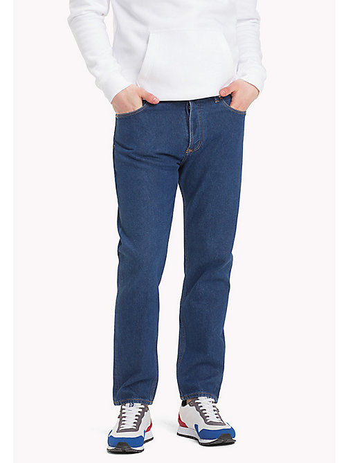 TOMMY JEANS Cropped Relaxed Fit Jeans - TOMMY JEANS DARK BLUE RIGID - TOMMY JEANS Jeans - main image