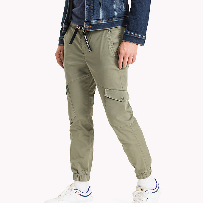 TOMMY JEANS Cargo Tapered Fit Pants - BLACK IRIS - TOMMY JEANS Men - detail image 2