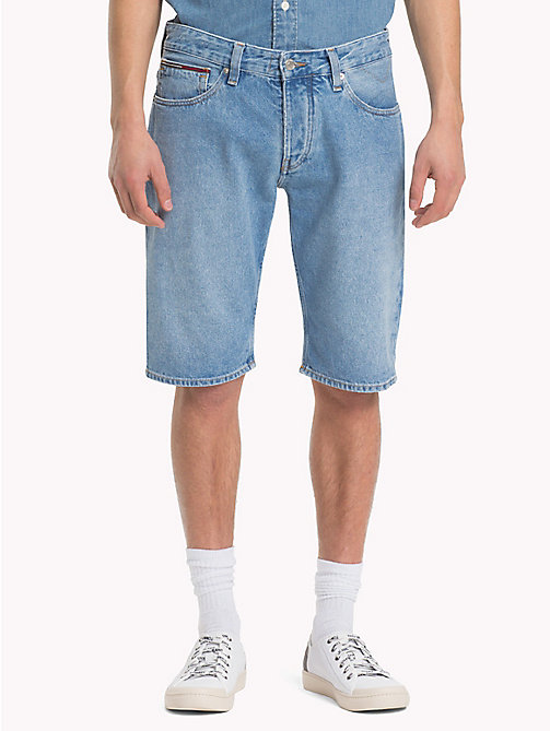 TOMMY JEANS Regular Fit Shorts aus Denim - TOMMY JEANS LIGHT BLUE RIGID - TOMMY JEANS Festival-Saison - main image