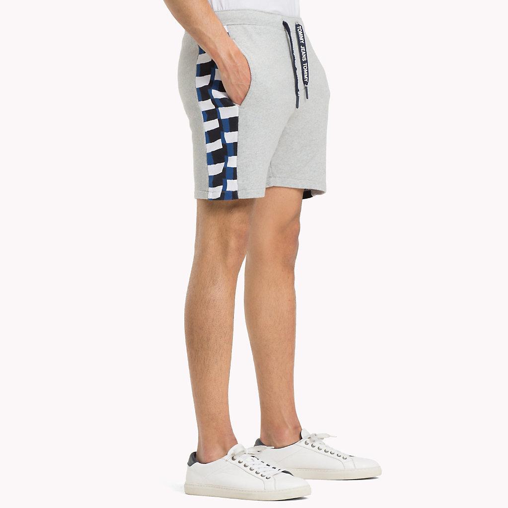 Shorts De Plage En Tricot À Carreaux - Vente Jusqu'à -50% Tommy Hilfiger TrvYJg