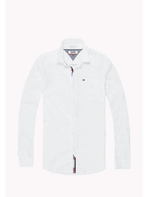 TOMMY JEANS Lightweight Pocket Shirt - CLASSIC WHITE - TOMMY JEANS MEN - detail image 1