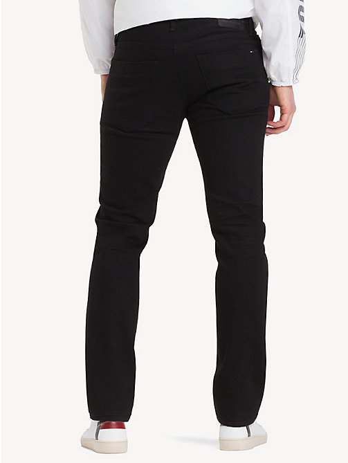 TOMMY JEANS Stretch Slim Fit Cotton Denim Trousers - BLACK COMFORT - TOMMY JEANS Clothing - detail image 1