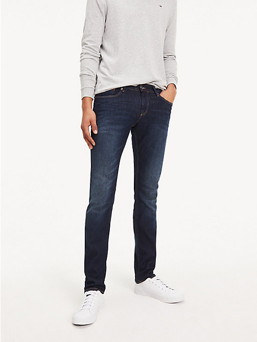 TOMMY JEANS Stretch Slim Fit Denim Jeans - DARK COMFORT - TOMMY JEANS Slim Fit Jeans - main image
