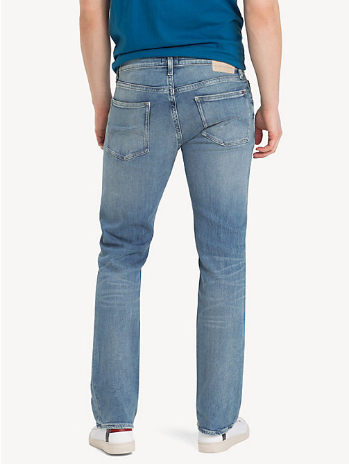 TOMMY JEANS Faded Slim Fit Jeans - PENROSE BLUE - TOMMY JEANS Clothing - detail image 1