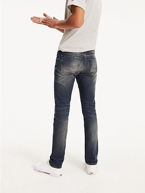 TOMMY JEANS Faded Slim Fit Jeans - PENROSE BLUE - TOMMY JEANS Basics - detail image 1