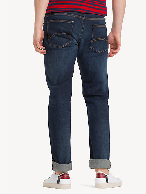 TOMMY JEANS Straight Cut Comfort Jeans - DARK COMFORT - TOMMY JEANS Clothing - detail image 1