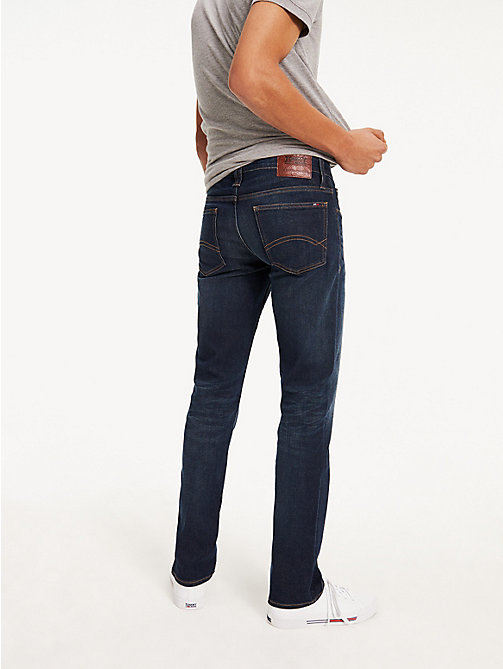 TOMMY JEANS Straight Cut Comfort Jeans - DARK COMFORT - TOMMY JEANS Straight Fit Jeans - detail image 1