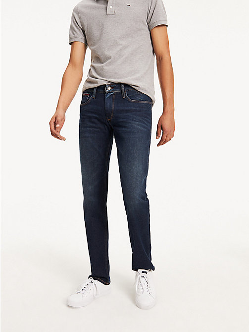 TOMMY JEANS Straight Cut Comfort Jeans - DARK COMFORT - TOMMY JEANS Straight Fit Jeans - main image