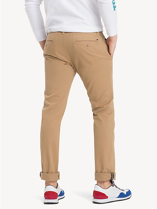 TOMMY JEANS Slim Fit Chinos - KELP - TOMMY JEANS TOMMY JEANS MEN - detail image 1