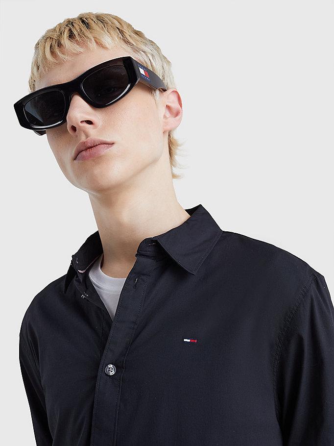 chemise Homme Tommy Hilfiger, coupe slim et extensible, en popeline