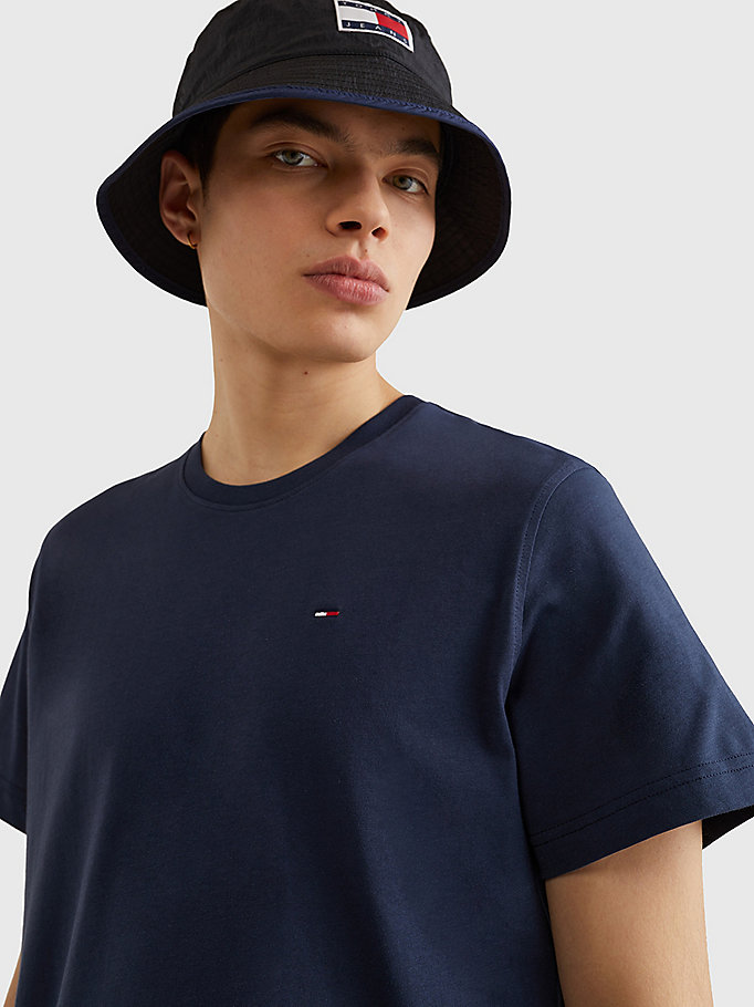 TOMMY JEANS Regular Fit Crew T-Shirt - TOMMY BLACK - TOMMY JEANS Men - detail image 2
