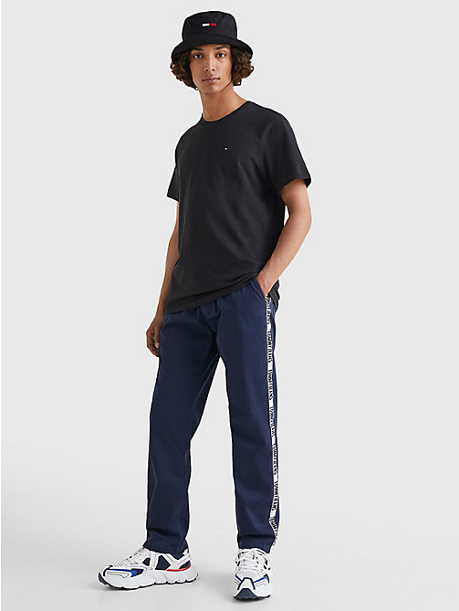 TOMMY JEANS Regular Fit Crew T-Shirt - TOMMY BLACK - TOMMY JEANS T-Shirts & Polos - detail image 1