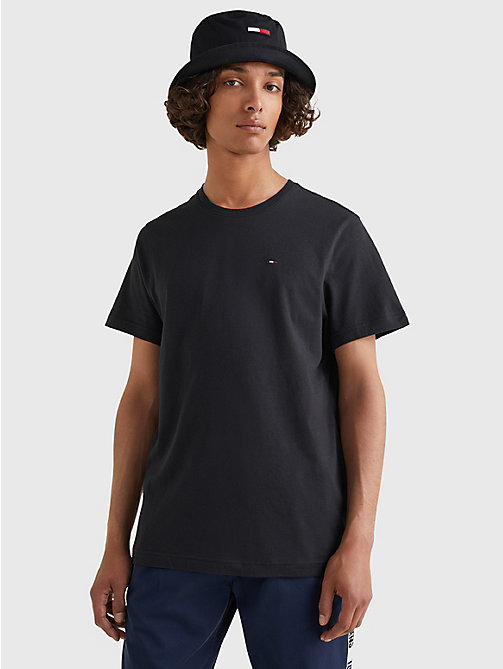 TOMMY JEANS Regular Fit Crew T-Shirt - TOMMY BLACK - TOMMY JEANS T-Shirts & Polos - main image