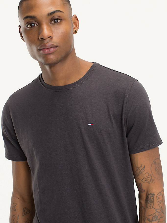 TOMMY JEANS Regular Fit Round Neck T-Shirt - FORMULA ONE - TOMMY JEANS Men - detail image 2