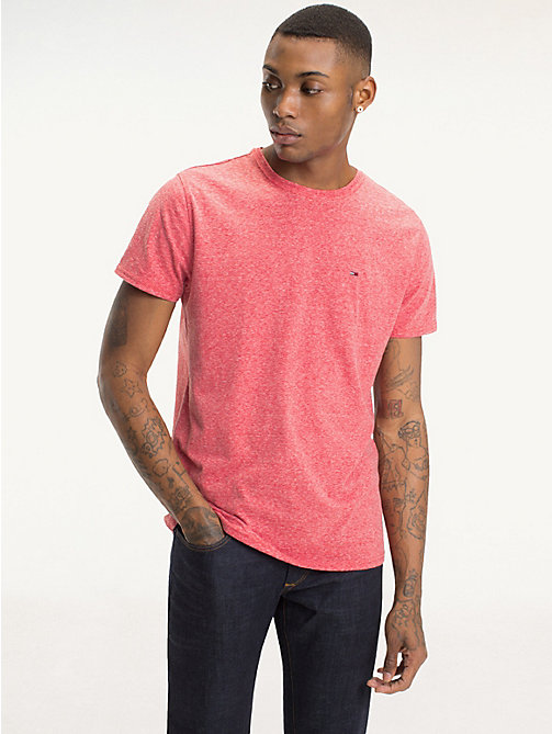 TOMMY JEANS Regular Fit Round Neck T-Shirt - FORMULA ONE - TOMMY JEANS T-Shirts & Polos - main image