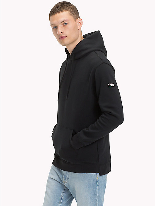 Urban Tommy Jeans Hoodie - TOMMY BLACK - TOMMY JEANS Clothing - main image