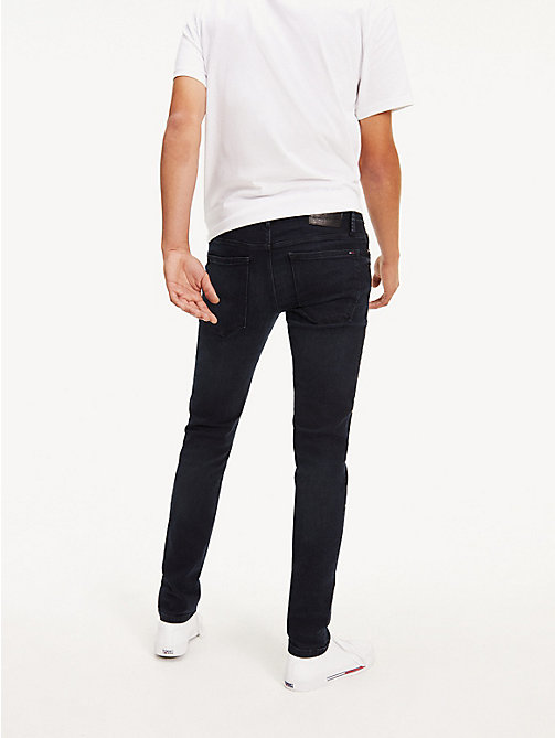 TOMMY JEANS Dark Wash Skinny Fit Jeans - COBBLE BLACK COMFORT - TOMMY JEANS Basics - detail image 1