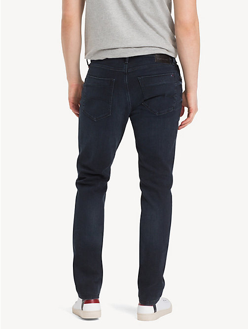 TOMMY JEANS Slim Fit Tapered Jeans - COBBLE BLACK COMFORT - TOMMY JEANS Tapered Jeans - detail image 1