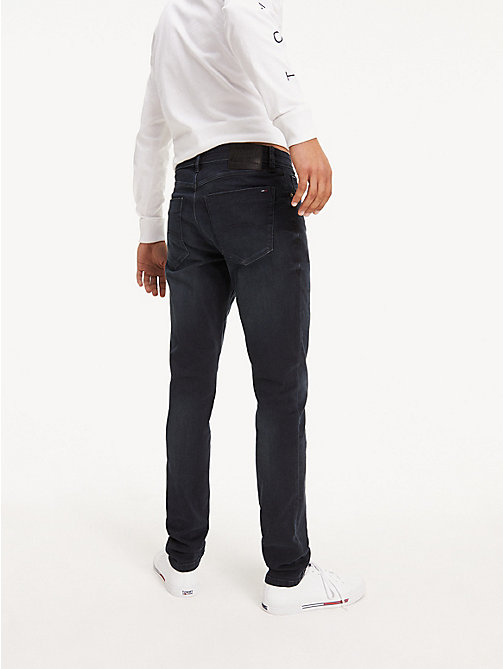 TOMMY JEANS Slim Fit Tapered Jeans - COBBLE BLACK COMFORT - TOMMY JEANS Basics - detail image 1