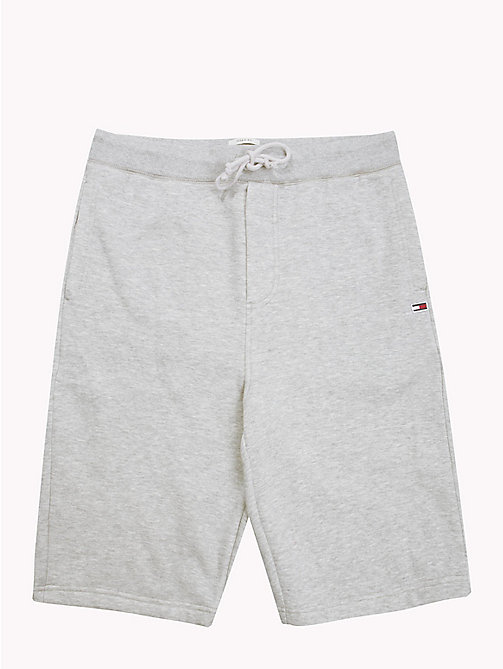 TOMMY JEANS Tommy Classics Sweat Shorts - LT GREY HTR - TOMMY JEANS Trousers & Shorts - detail image 1