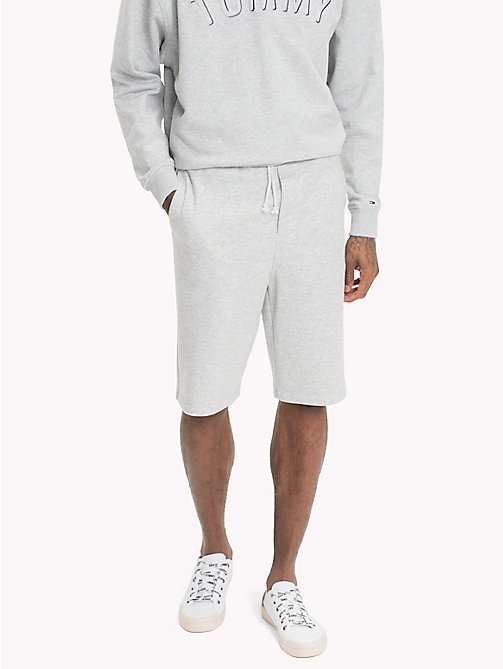 TOMMY JEANS Tommy Classics Sweat Shorts - LT GREY HTR - TOMMY JEANS Trousers & Shorts - main image
