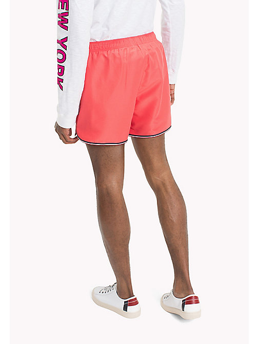 TOMMY JEANS Summer Running Shorts - ROSE OF SHARON - TOMMY JEANS Vacation Style - detail image 1