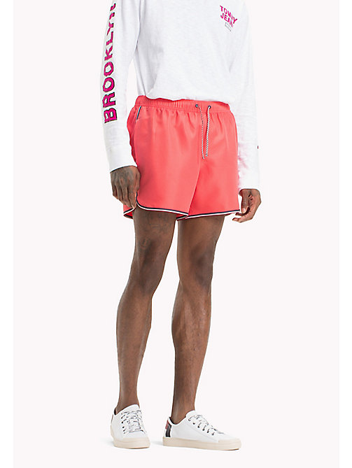 TOMMY JEANS Summer Running Shorts - ROSE OF SHARON - TOMMY JEANS Vacation Style - main image