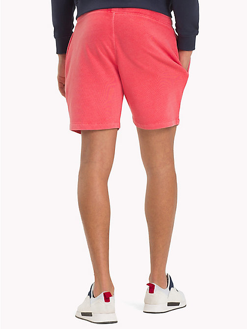 TOMMY JEANS Summer Sweat Shorts - ROSE OF SHARON - TOMMY JEANS Festivals Season - detail image 1