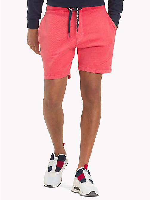 TOMMY JEANS Summer Sweat Shorts - ROSE OF SHARON - TOMMY JEANS Trousers & Shorts - main image