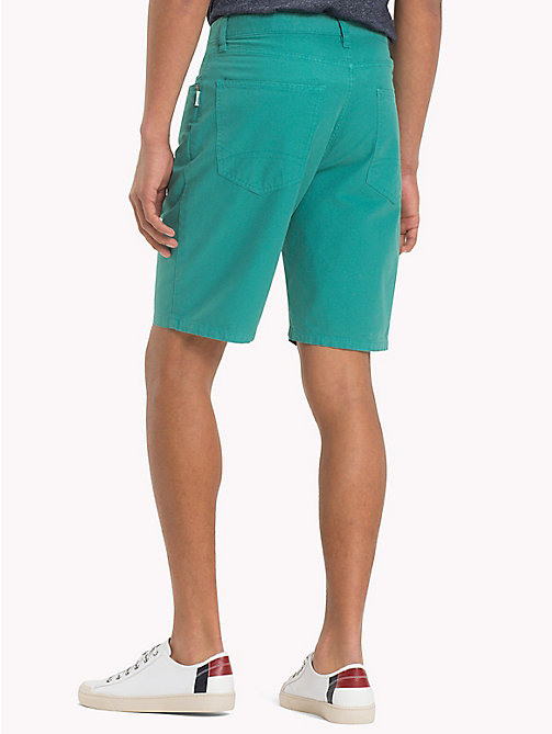 TOMMY JEANS Denim Shorts - GREEN BLUE SLATE - TOMMY JEANS Trousers & Shorts - detail image 1
