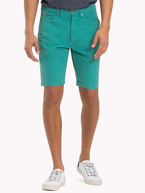 TOMMY JEANS Shorts in denim - GREEN BLUE SLATE - TOMMY JEANS Pantaloni - immagine principale